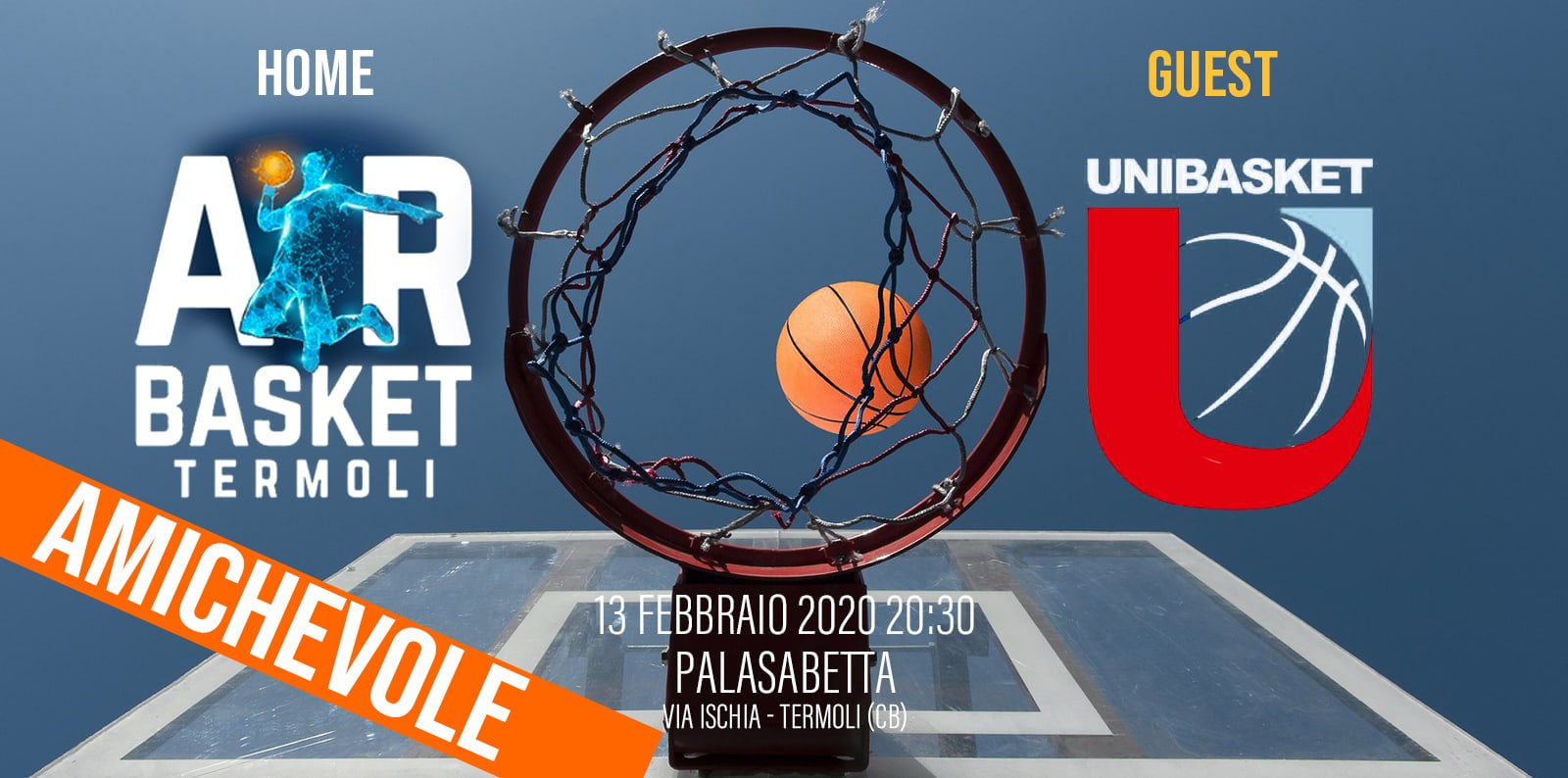 AIR BASKET TERMOLI vs UNIBASKET LANCIANO Serie C Gold